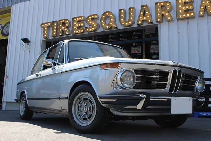 The featured image of クラッシクな、お車 ーBMW 2002 tiiーPart2