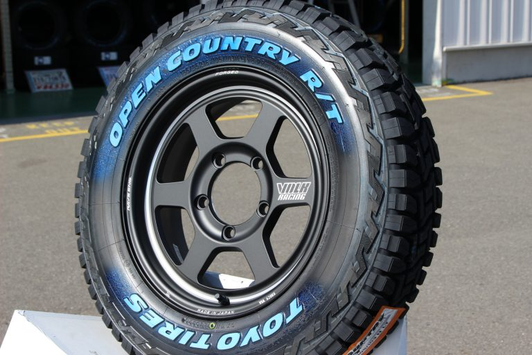 The featured image of TOYOTIRES OPEN COUNTRY R/T ホワイトレター185/85R16