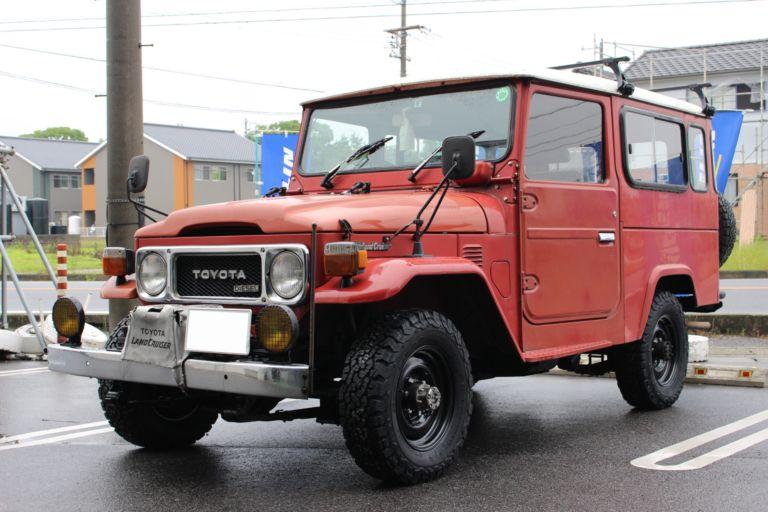 The featured image of 旧型ランクル ヨンマル のお客様